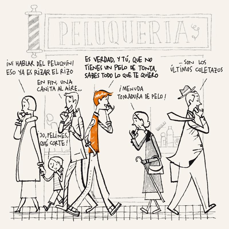Juan Berrio, Calles contadas, Recounting streets