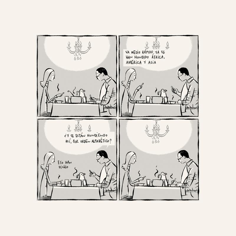 Dentro de nada, Juan Berrio