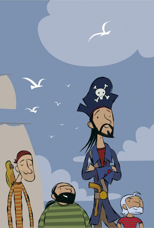 Juan Berrio, Niko el pirata