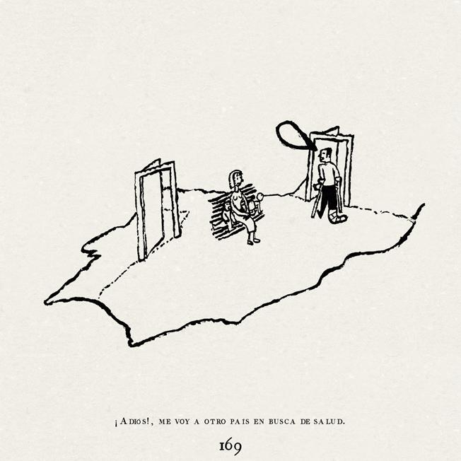 Juan Berrio, Ejercicios de ilustración